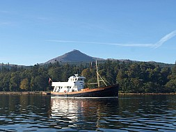 Anchored under Goat Fell