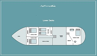 Cabins - Boat Plan 3