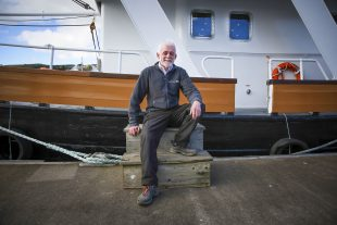 Skipper Iain Duncan - Scottish Cruises