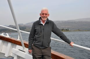 Skipper Iain Duncan - Scottish Cruises
